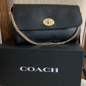 Coach Ruby Crossbody Crossgrain Leather F57528